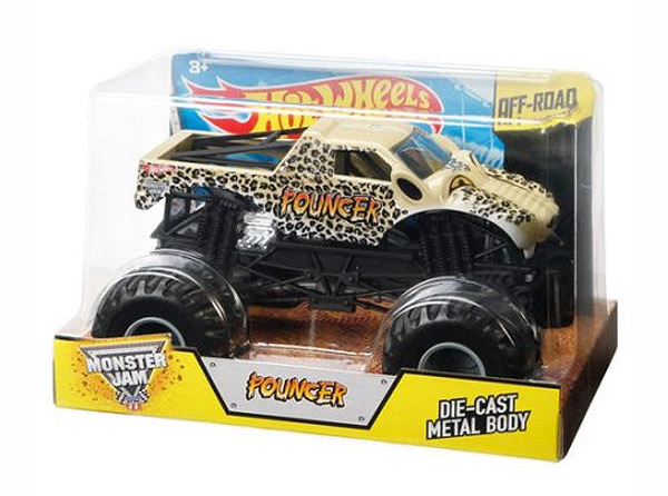 CJD22 - Mattel Pouncer Hot Wheels Monster Jam Diecast