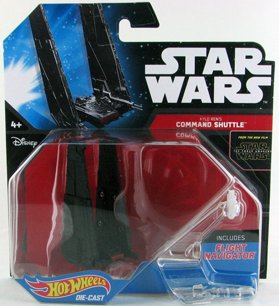 CKJ68 - Mattel Kylo Rens Command Shuttle Hot