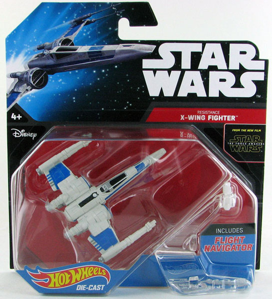 CKJ71 - Mattel Resistance X Wing Fighter Hot