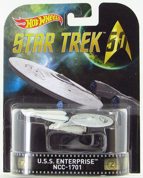 DJF53 - Mattel USS Enterprice NCC 1701 Star Trek