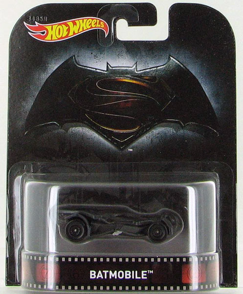 DJF57 - Mattel Batmobile Batman v Superman 2016 Hot