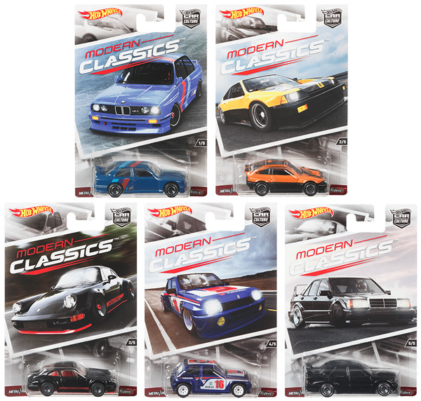 DJF77-956K-CASE - Mattel Hot Car Culture Release K
