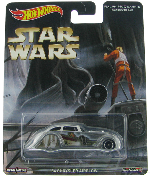 DJH04 - Mattel 34 Chrysler Airflow Featuring Star Wars
