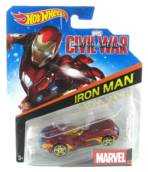 DJJ55 - Mattel Iron Man Captain America Civil War