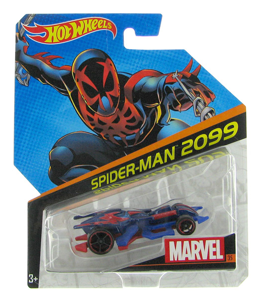 DJJ58 - Mattel Spider Man 2099 Hot Marvel