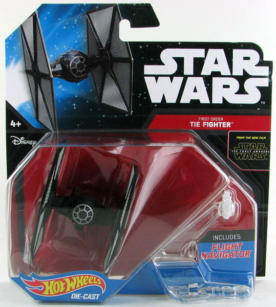 DJJ61 - Mattel First Order Tie Fighter Hot