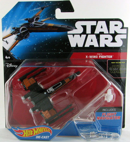 DJJ63 - Mattel Poes X Wing Fighter Hot