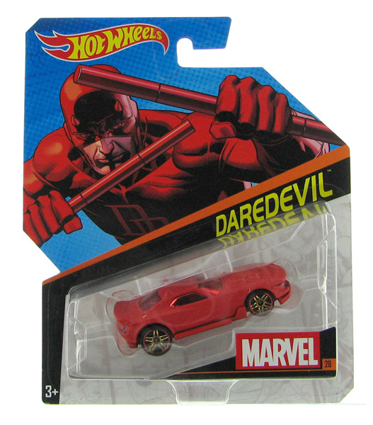 DJJ77 - Mattel Daredevil Hot Marvel Character Car