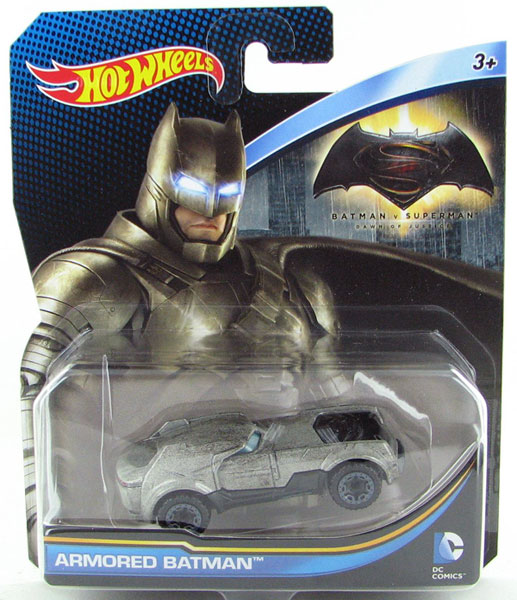 DJM19 - Mattel Armored Batman Hot DC Comics
