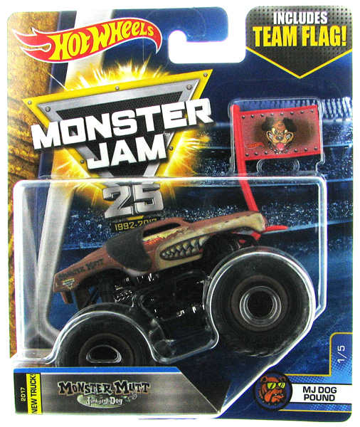DJP70 - Mattel Monster Mutt Junk Yard Dog New