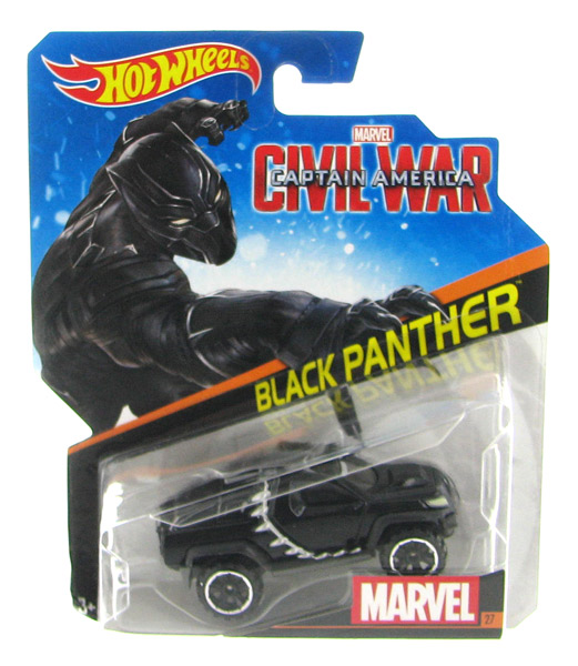 DKH23 - Mattel Black Panther Captain America Civil War
