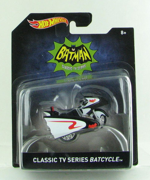 DKL26 - Mattel Classic TV Series Batcycle Hot