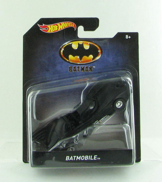 DKL28 - Mattel Batman 1989 Batmobile Hot Premium