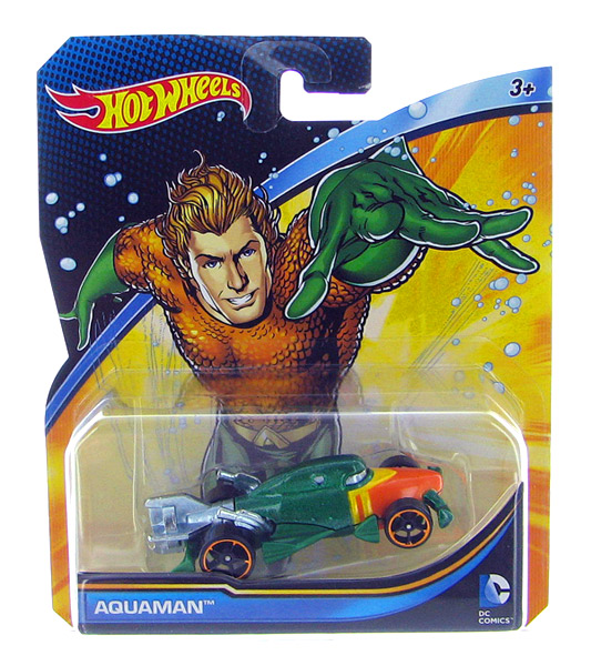 DMM14 - Mattel Aquaman Hot DC Comics Character Car