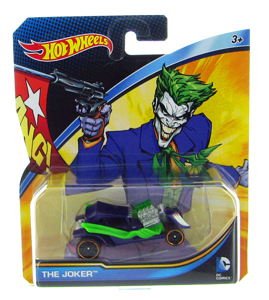 DMM16 - Mattel The Joker Hot DC Comics