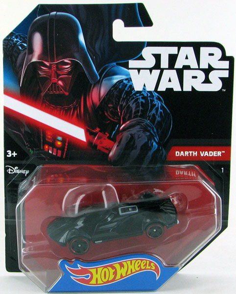 DTB03 - Mattel Darth Vader Hot Star Wars