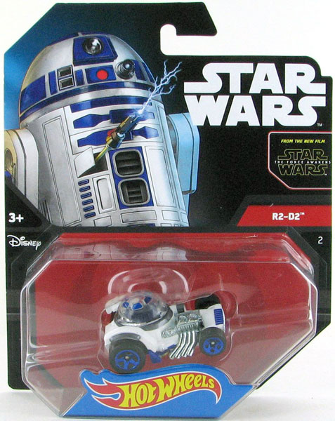 DTB04 - Mattel R2 D2 Hot Star Wars