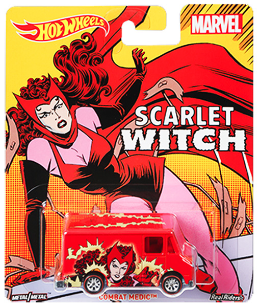 DWH29 - Mattel Scarlet Witch Combat Medic Hot