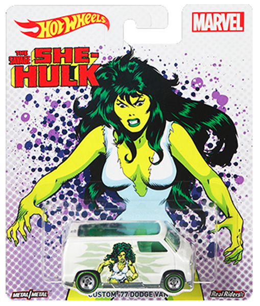 DWH30 - Mattel The Savage She Hulk Custom 77