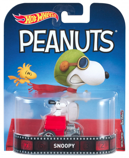 DWJ89 - Mattel Snoopy Peanuts Hot 2017 Entertainment Series