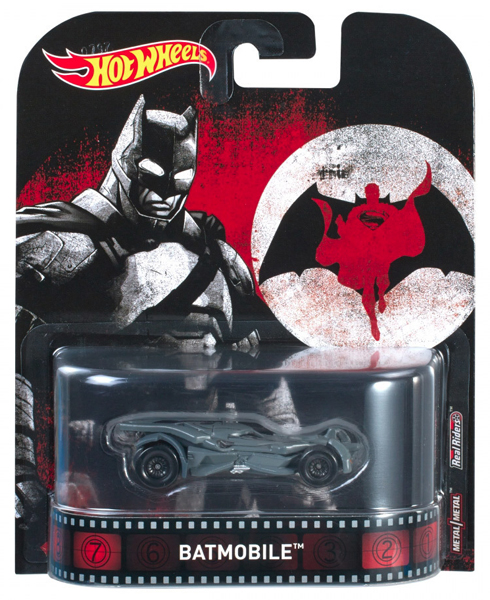 DWJ91 - Mattel Batmobile Batman v Superman 2016 Hot