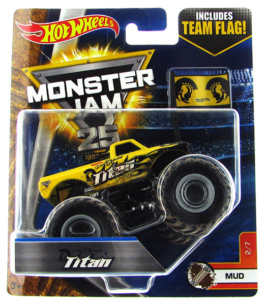 DWL47 - Mattel Titan Hot Monster Jam