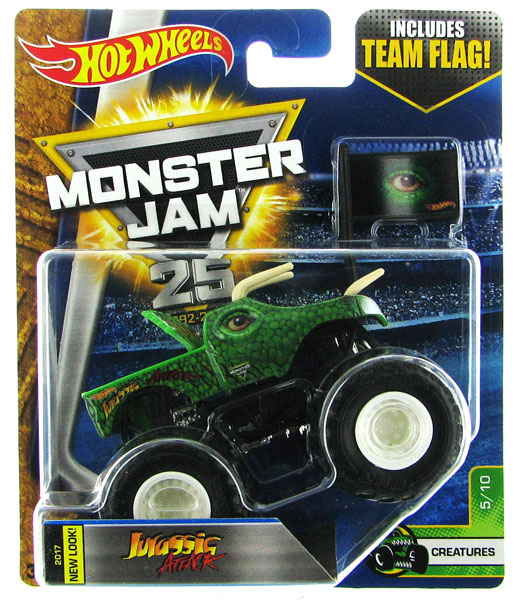 DWL52 - Mattel Jurassic Attack Hot Monster Jam