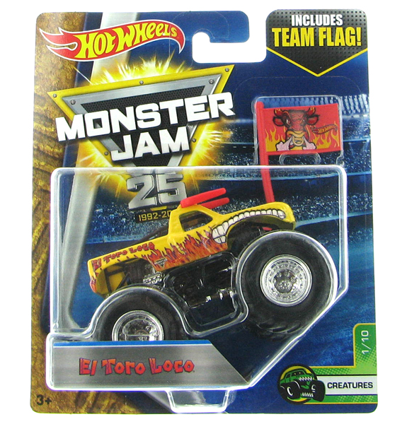 DWL76 - Mattel El Toro Loco Hot Monster