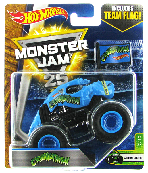 DWL79 - Mattel Crushstation Hot Monster Jam