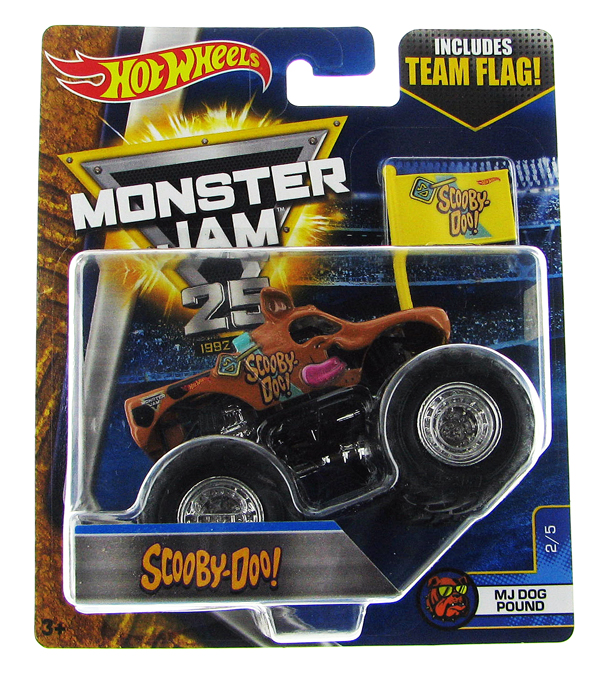 DWL83 - Mattel Scooby Doo Hot Monster Jam