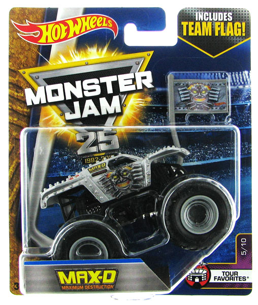 DWL87 - Mattel Max D Hot Monster Jam