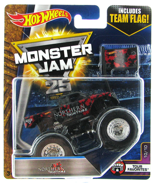 DWM05 - Mattel Northern Nightmare Hot Monster Jam
