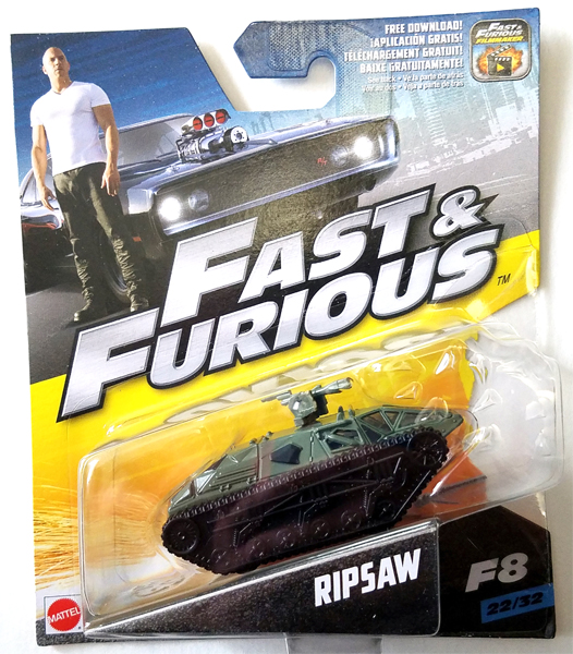 FCF57 - Mattel Ripsaw The Fate of