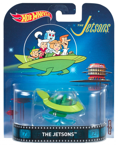 FRF24 - Mattel The Jetsons Hot 2017 Entertainment Series