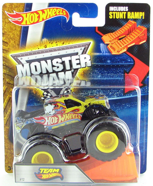 X8972 - Mattel Team Hot Hot Monster