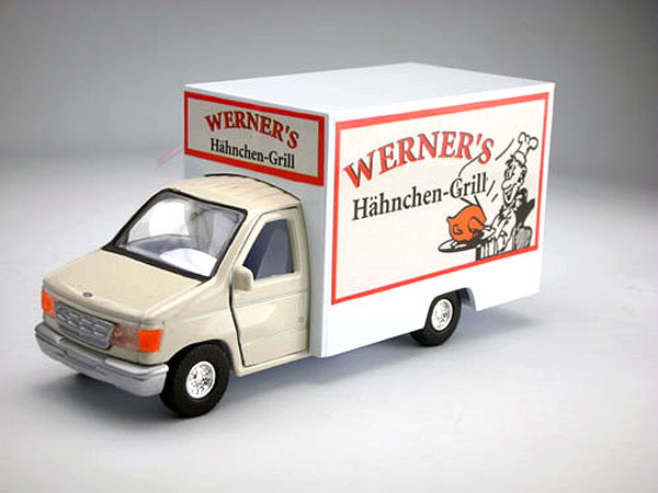 18900-D - Metallic Team Werners Ford Grill Lunch Truck