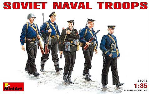 35043 - Miniart Soviet Naval Troops