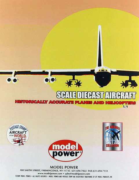PLANEFLYER09 - Model Power 2009 Postage Stamp Brochure listing