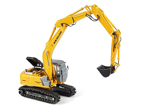 13722 - Motorart New Holland E215B Long Boom Excavator