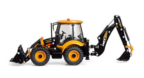 13730 - Motorart MST 644 Backhoe Loader A detailed