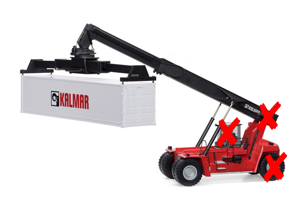 13788-X - Motorart Kalmar DRG420 450 Gloria Reachstacker BOX IS