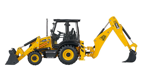 15837 - Motorart JCB 3CX Contractor Backhoe Loader