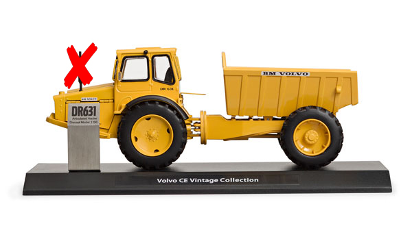 300063-X - Motorart Volvo DR 631 Gravel Charlie Articulated