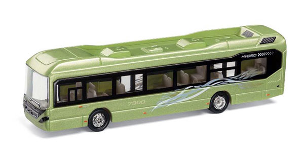 300075 - Motorart Volvo 7900 Bus A detailed scale