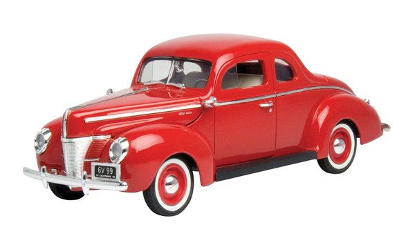 73108-R - Motormax 1940 Ford Deluxe Coupe