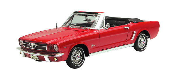 73145AC-R - Motormax 1964 1_2 Ford Mustang Convertible