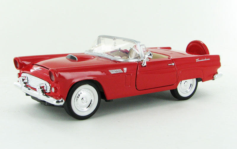 73215AC-R - Motormax 1956 Ford Thunderbird Convertible
