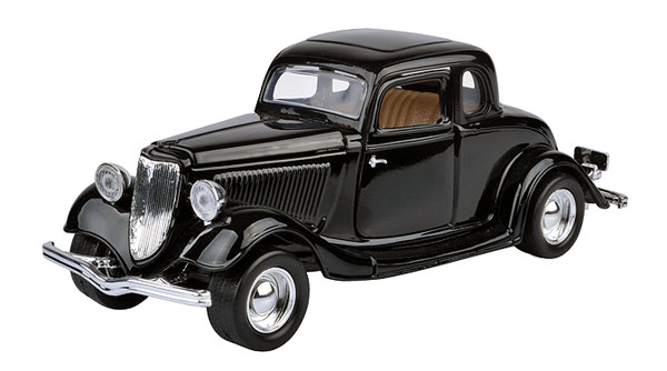 73217AC-BK - Motormax 1934 Ford Coupe