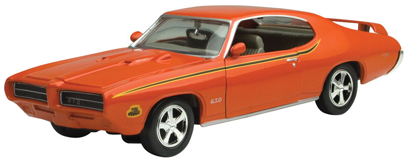 73242AC-OR - Motormax 1969 Pontiac GTO Judge