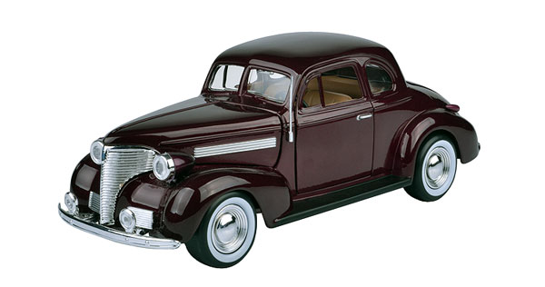 73247AC-DBR - Motormax 1939 Chevrolet Coupe